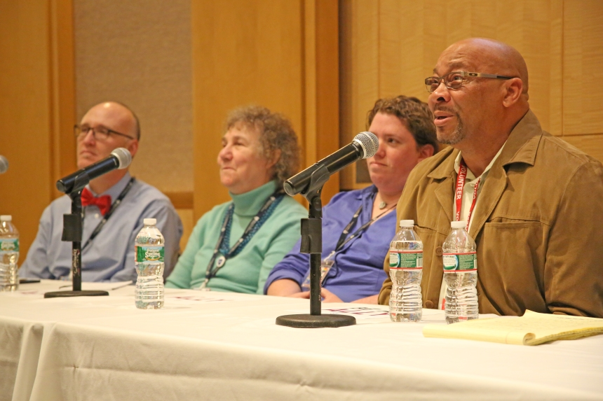 From left: Juan Jaime de Zengotita, Martie Carnie, Carrie Braverman and Barry Nelson