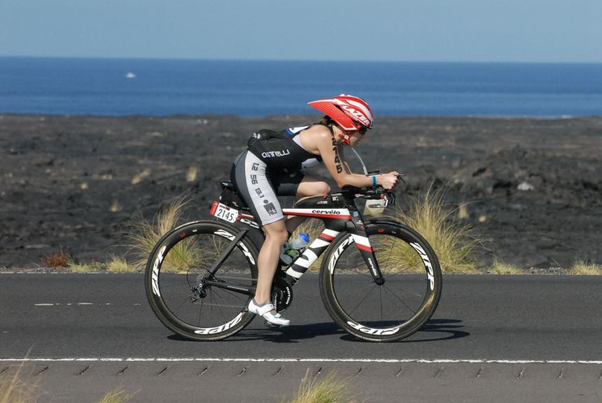 For Psychiatry resident Claire Twark, training for triathlons is a major component of wellness.