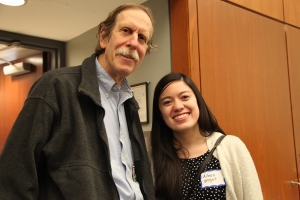 Aileen Wright with BWH primary care physician Gordon Schiff