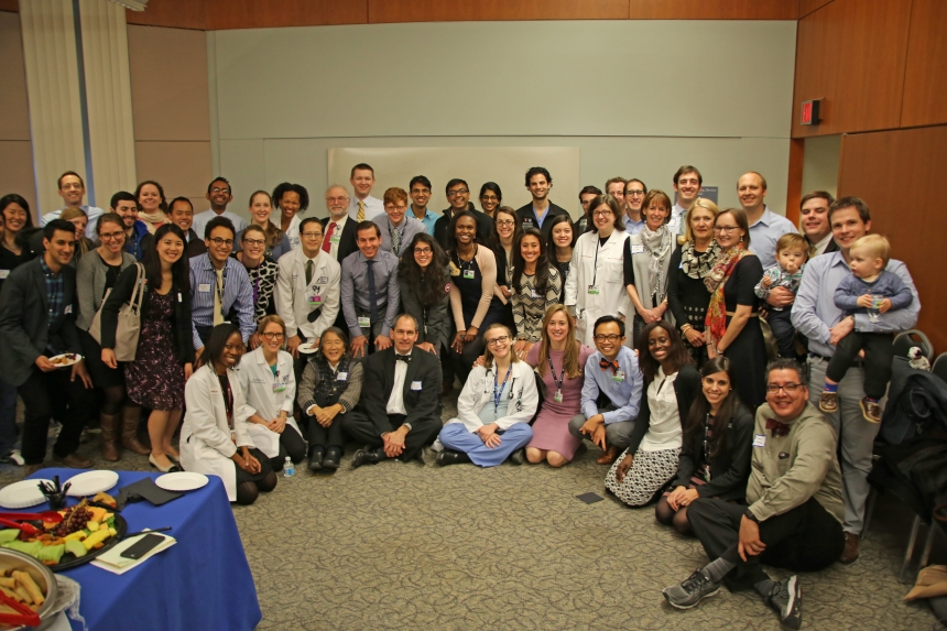 Many of BWH's incoming residents, along with staff and guests on Match Day