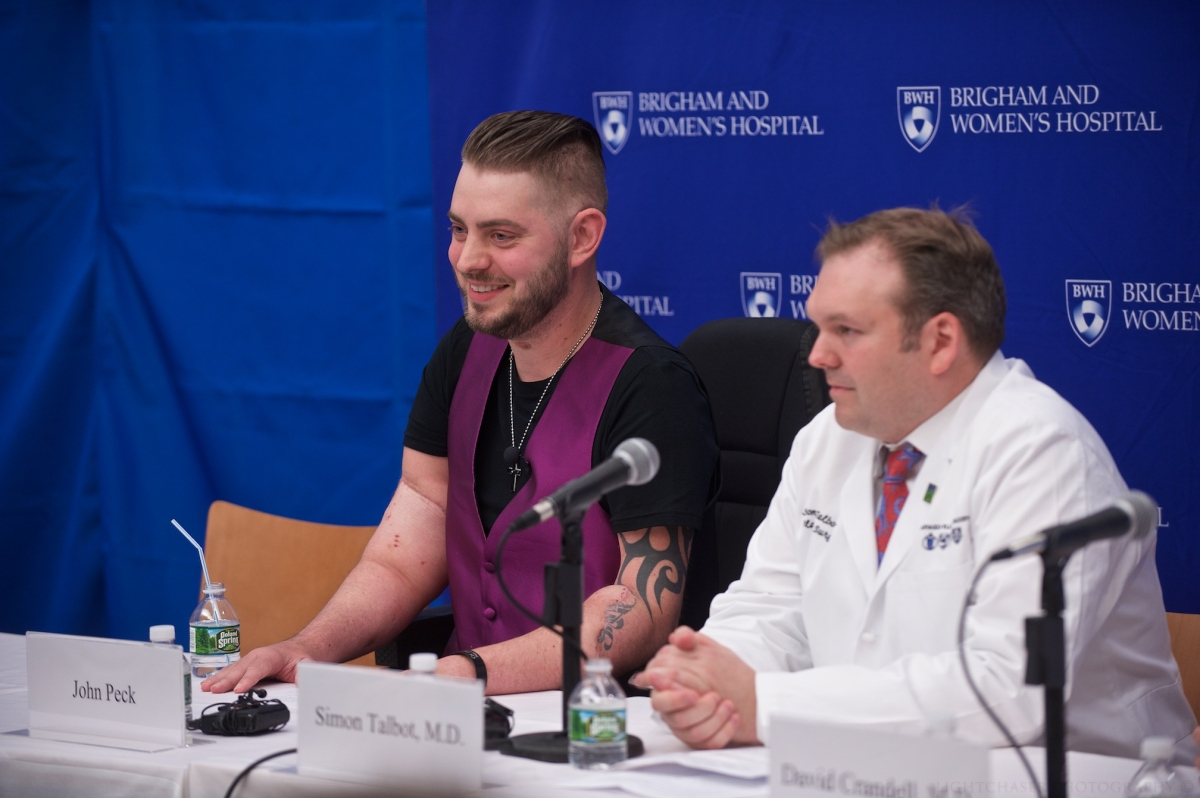 'I Will Never Give Up': Injured Marine Receives Double-Arm Transplant