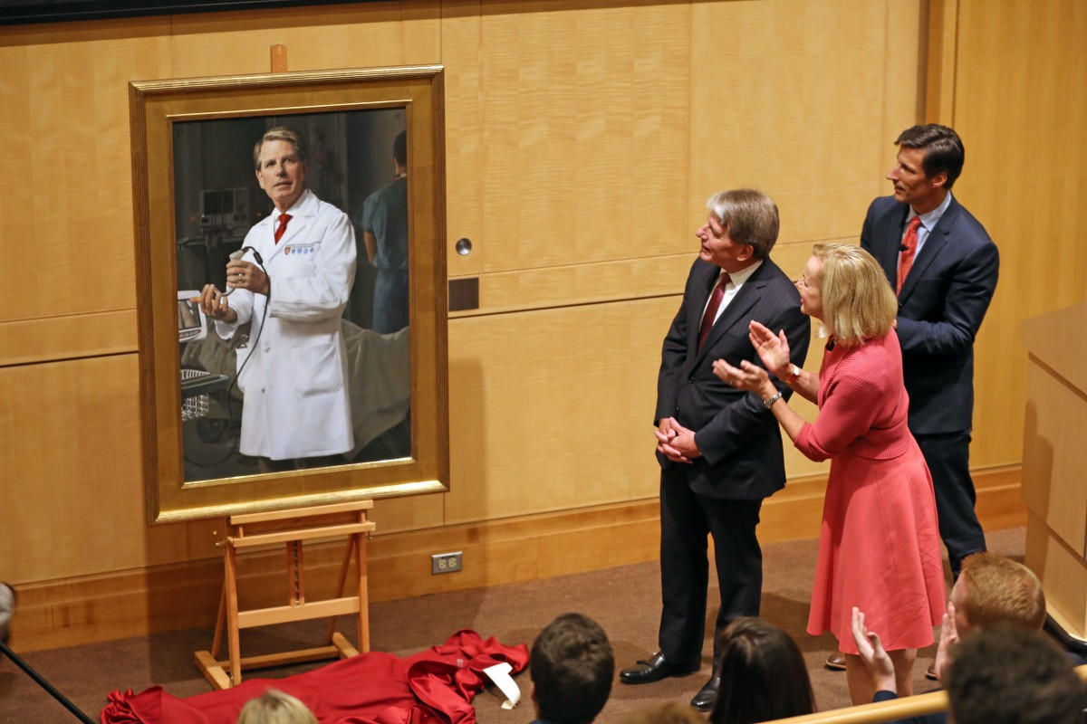portrait of a dedicated leader: walls honored in bornstein | bwh