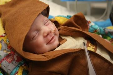 Baby Noah as Obi-Wan Kenobi