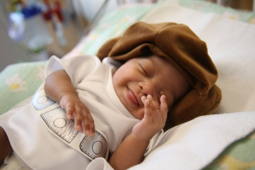 Baby Tisha as Princess Leia